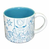 Чашка Warcraft - Cute But Deadly Villain Mug (Lich King and Illidan)