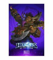Плакат фирменный Blizzard - Heroes of the Storm E.T.C. Poster