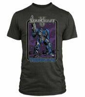 Футболка StarCraft II Retro Terran Premium  (размер L)