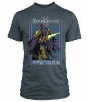 Футболка StarCraft II Retro Protoss Premium  (размер S)
