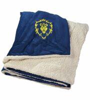 Одеяло со знаком Альянса (World of Warcraft Alliance Logo Blanket) 210 x 150 cm