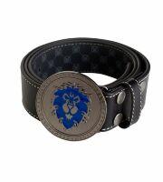 Ремень + Пряжка World of Warcraft Alliance Leather Belt
