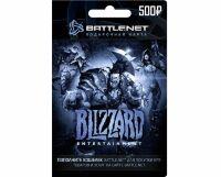 Карта пополнения Blizzard Battle.net номинал 500 RU ключ