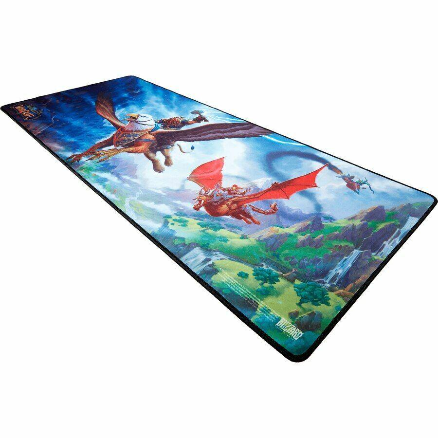 Коврик игровая поверхность World of Warcraft Gryphon Rider Desk Mat (91*38 cm)