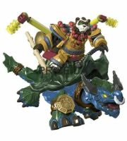 Mega Bloks World of Warcraft:  pandaren on DRAGON TURTLE