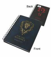 Блокнот World of Warcraft Alliance/Horde Notebook