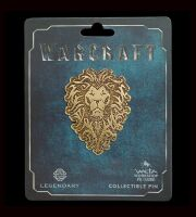 Значок Alliance collectible Pin Warcraft - Alliance Distressed Bronze