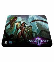 Коврик SteelSeries QcK Starcraft II Heart of the Swarm KERRIGAN