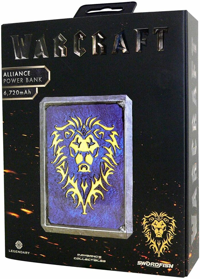 Power Bank Warcraft Alliance Symbol