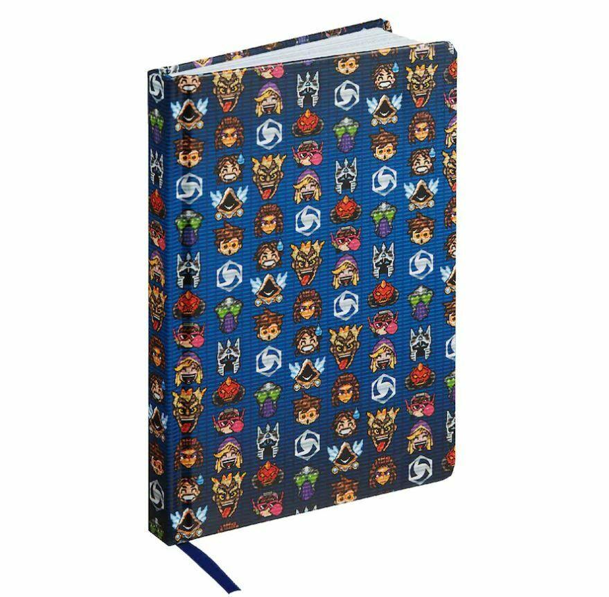 Блокнот Heroes of the Storm 8-Bit Notebook
