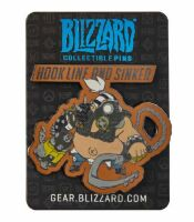 Значок Blizzard Collectible Pins - Cute But Deadly Roadhog Pin