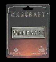 Значок collectible Pin WARCRAFT METAL LOGO PIN