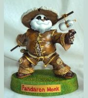 World of Warcraft Pandaren Monk Tribe Action Figure