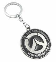 Брелок Overwatch Keychain - Metal Blizzard silver