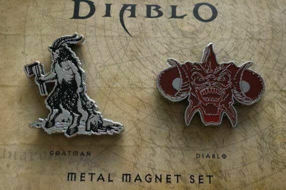 Набор магнитов Diablo Metal Magnet Set